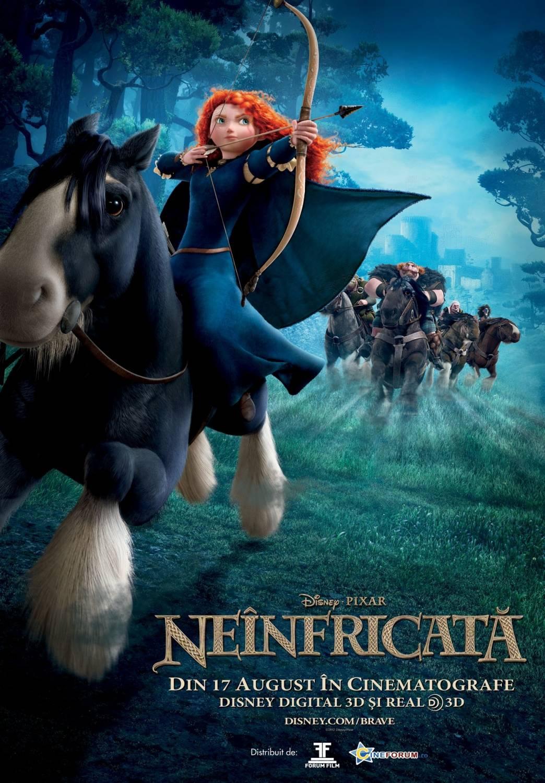 Brave - Neinfricata (2012) online subtitrat